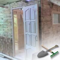 щитовой домик для дачи