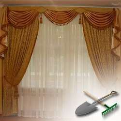 Шьем шторы для дачи: уроки рукоделия