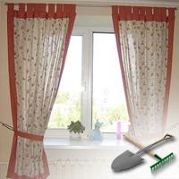 Как сшить шторы на дачу своими руками фото