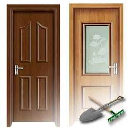 Поговорим про особенности деревянных дверей для дачи