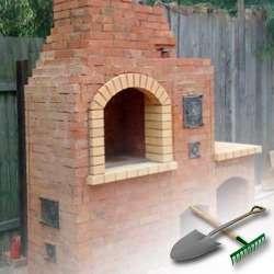 Как сделать уличную печь для дачи?