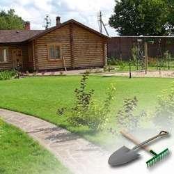 Делаем красивый газон на своей даче