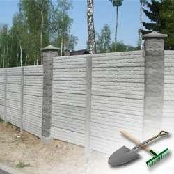 Строим забор на даче своими руками