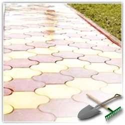 Тротуарная плитка для дачи, красота и долговечность