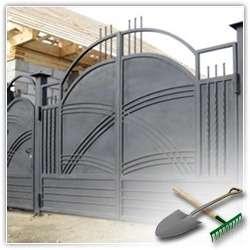 Как самому сделать ворота на даче?