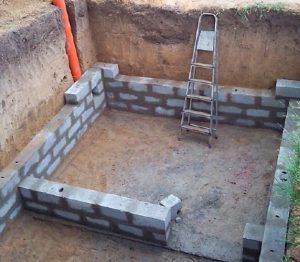 как построить погреб из кирпича своими руками