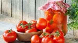 длительное хранение помидор